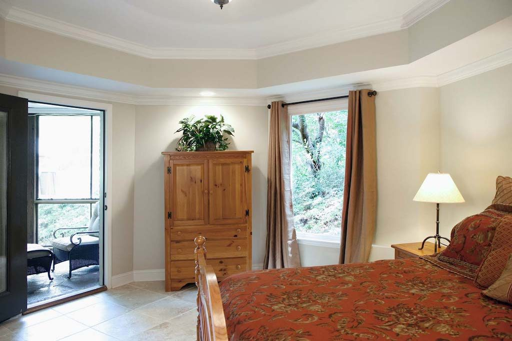 recessed ceiling trends in basement bedroom