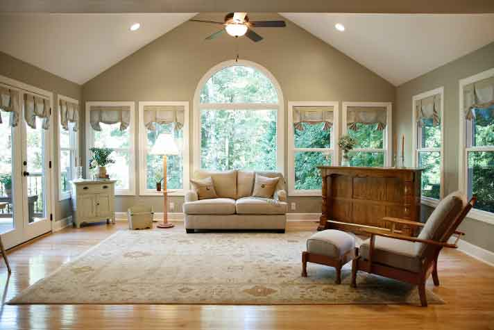 Sunroom Addition in Roswell GA