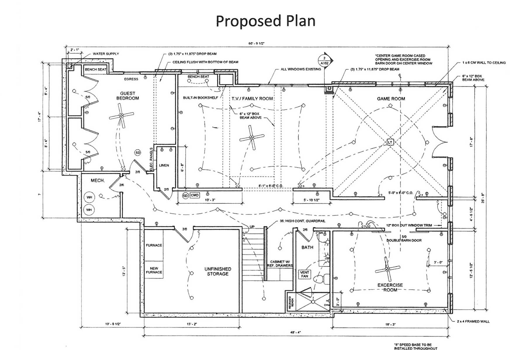 Proposed Plan for Remodel
