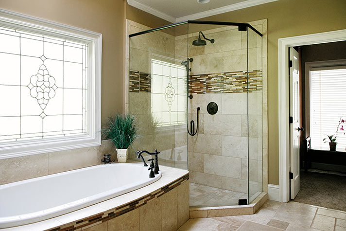 Charming Remodeled Bathroom In Johns Creek Ga