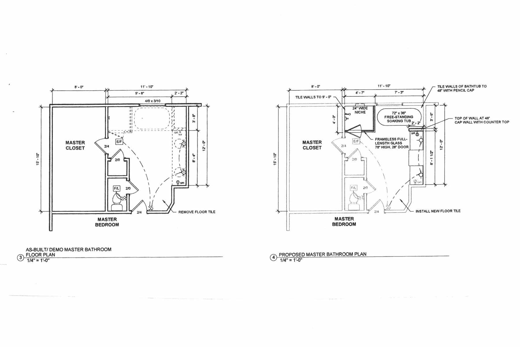 Roswell GA Bathroom Remodeling | AD&B