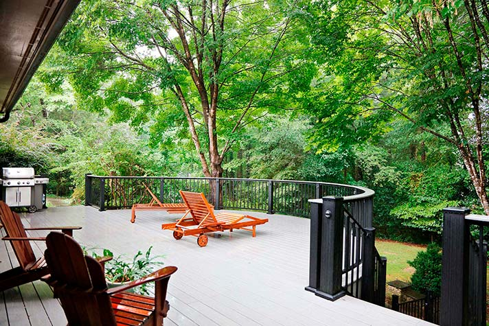 Deck, Stairs, & Railing in Marietta