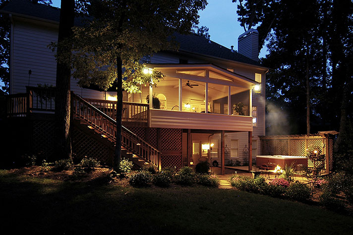 Screened porches and patios in Alpharetta