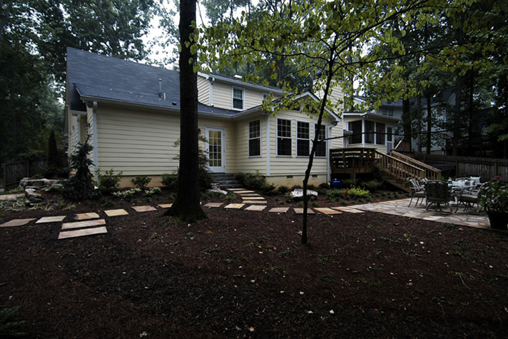 Deck and patio building in Marietta