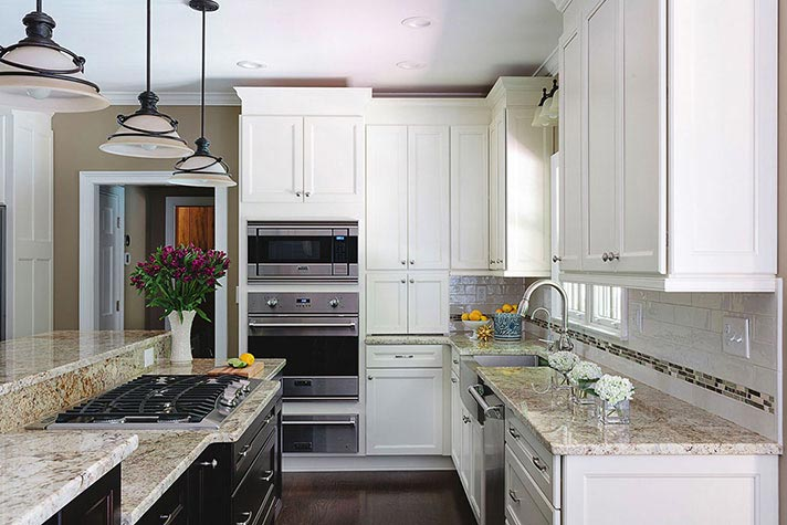 kitchen remodeling on jefferson township lane
