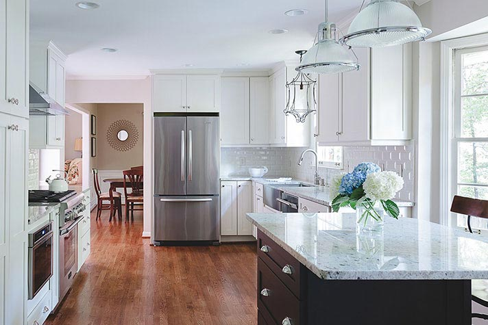 renovated kitchen in marietta