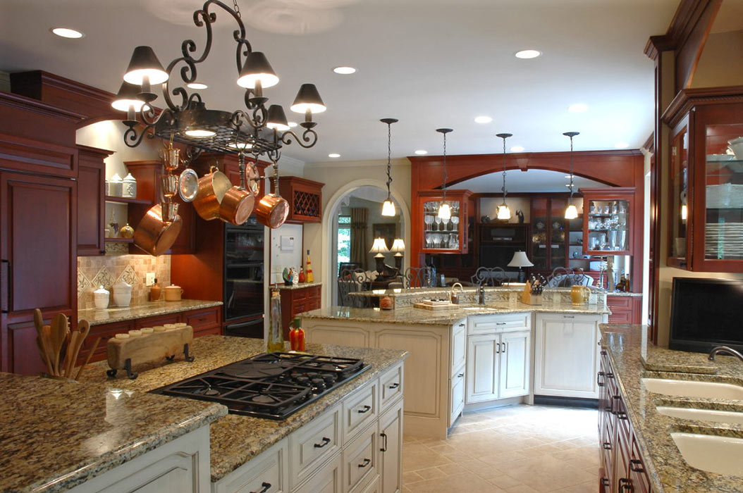 Full view of remodeled kitchen
