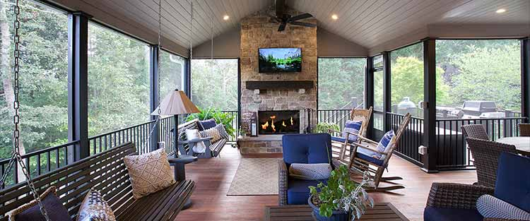 Outdoor Living Space - Marietta, GA